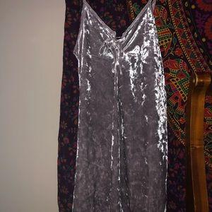 Velvet Dress from forever 21